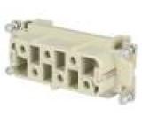 Konektor HAN zásuvka HSB PIN:6 6+PE velikost 16B 35A 690V