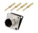 Konektor kulatý vidlice Řada: RT360 Pouz: velikost 10 zásuvka