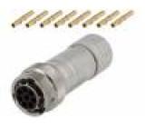 Konektor kulatý zásuvka Řada: RT360 Pouz: velikost 12 zástrčka
