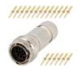 Konektor kulatý vidlice Řada: RT360 Pouz: velikost 16 zástrčka