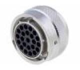 Konektor kulatý zásuvka Řada: RT360 Pouz: velikost 18 zástrčka