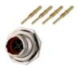 Konektor kulatý vidlice Řada: RT360 Pouz: velikost 10 IP67