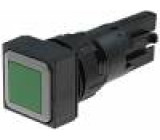 Přepínač tlačítkový 2 polohy 16mm   -25÷70°C Polohy:2