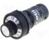 Potenciometr 22mm IP65 -25÷70°C Ø22,5mm 10kΩ