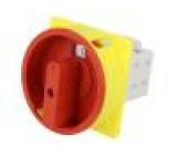 Přepínač vačkový 2 polohy 25A 0-1 montáž k vestavbě 7,5kW