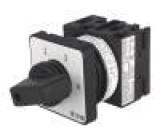 Přepínač odpojovač 4 polohy 20A 1-2-3-4 montáž k vestavbě