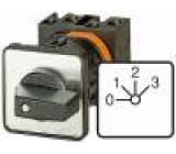 Přepínač vačkový vícepolohový 4 polohy 20A 0-1-2-3 6,5kW
