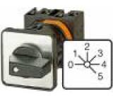 Přepínač vačkový vícepolohový 6 poloh 20A 0-1-2-3-4-5 6,5kW