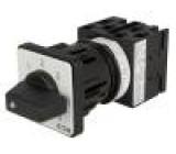 Přepínač odpojovač 7 poloh 20A 0-1-2-3-4-5-6 6,5kW 100kcyklů