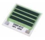 Rezistor na pásce topný lepením 57,6Ω 40W Výv: pájecí body