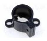 Objímka svislá pro upevnění velkých kondenzátorů polyamid