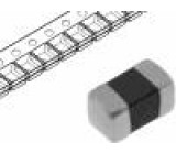 Ferit korálek 1000Ω montáž SMD 100mA Pouz:0603 -55÷125°C
