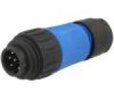Konektor kulatý zástrčka vidlice Řada: ECOMATE (C016) PIN:7