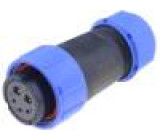 Konektor kulatý zástrčka SP21 zásuvka IP68 500V na kabel