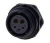 Konektor kulatý zásuvka SP21 zásuvka IP68 500V pájení