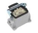 Konektor hranatý zásuvka zásuvka 500V Pouz: velikost H-B 6