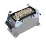 Konektor hranatý zásuvka zásuvka 500V Pouz: velikost H-B 16