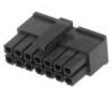 Zástrčka kabel-pl.spoj zásuvka PIN:14 bez kontaktů 3mm MF30