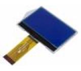 Zobrazovač: LCD grafický STN Negative 128x64 LED PIN:36 2,7