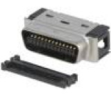 Konektor MDR PIN:26 stíněný na kabel Mat: polyester zástrčka