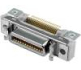 Konektor MDR PIN:26 stíněný Zajištění: zacvaknutí do panelu
