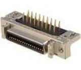 Konektor MDR PIN:36 stíněný Zajištění: zacvaknutí do panelu