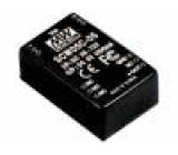 SCW05A-09 Převodník: DC/DC 5W Uvst:9÷18V 9VDC Ivýst:556mA DIP 15g 50kHz