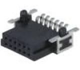 Konektor plošný spoj-plošný spoj zásuvka PIN:12 1,27mm 2,3A