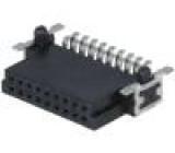 Konektor plošný spoj-plošný spoj zásuvka PIN:18 1,27mm 2,3A