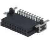Konektor plošný spoj-plošný spoj zásuvka PIN:20 1,27mm 2,3A