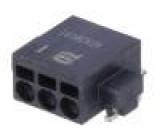 Konektor kabel-pl.spoj PIN:3 2,54mm Řada: har-flexicon SMT