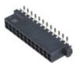 Konektor kabel-pl.spoj PIN:12 2,54mm Řada: har-flexicon SMT