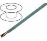 Kabel LiYY licna CU 8x0,25mm2 PVC šedá 300V LIYCY, LIYY