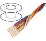 Kabel licna OFC 8x0,35mm2 PVC 49V 100m