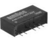 AM1DS-0512DZ Převodník: DC/DC 1W Uvst:4,5÷5,5V Uvýst:12VDC Uvýst2:-12VDC