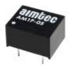 AM1P-2424SZ Převodník: DC/DC 1W Uvst:21,6÷26,4V 24VDC Ivýst:42mA DIP8