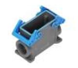 Kryt: pro obdélníkové konektory velikost 77.27 IP69 M32