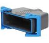 Kryt: pro obdélníkové konektory velikost 104.27 IP69 M40