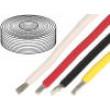 Kabel UL1015,UL1230 licna Cu 2,41mm2 12AWG PVC černá 600V