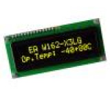 Zobrazovač: OLED alfanumerický 16x2 Rozměry okénka:66x16mm