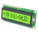 Zobrazovač: LCD alfanumerický 14x1 80x36mm Rozhraní:8 bit BUS