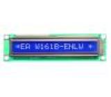 Zobrazovač: LCD alfanumerický STN Negative 16x1 modrá LED