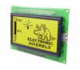 Display: LCD graphical STN Positive 128x64 yellow-green LED