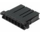 Konektor kabel-pl.spoj zástrčka zásuvka Řada: D-3100S 250V