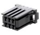 Konektor kabel-pl.spoj zástrčka zásuvka Řada: D-3100D 250V