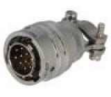 Konektor kulatý PT zástrčka vidlice PIN:10 vnitřní bajonet