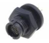 Konektor kulatý Řada: EN2 zásuvka zásuvka Povrch: zlacený 5A