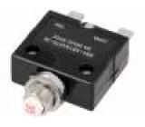 Jistič Ujmen:250VAC 50VDC 10A Kontakty: SPST-NC Poč.pólů:1