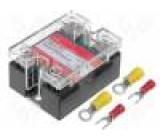 Relé polovidičová Uříd:3÷32VDC 25A 24÷280VAC Řada: SSR-Z