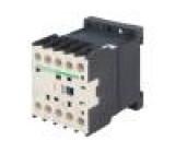 Stykač 3-pólový Pomocné kontakty: NO 24VDC 9A NO x3 DIN 4kW